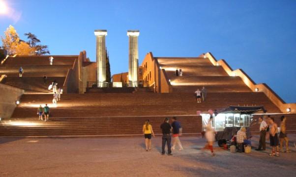 Complejo cultural parque de espa a rosario arquitectura for Arquitectura rosario