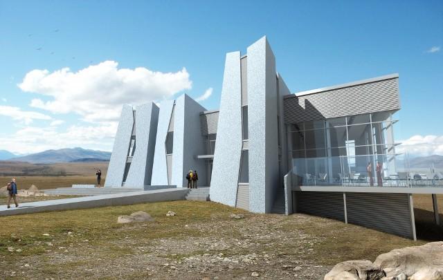 Museo del Hielo exterior