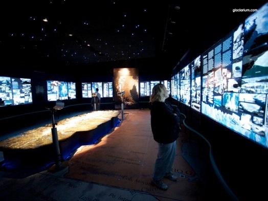 Museo del Hielo interior