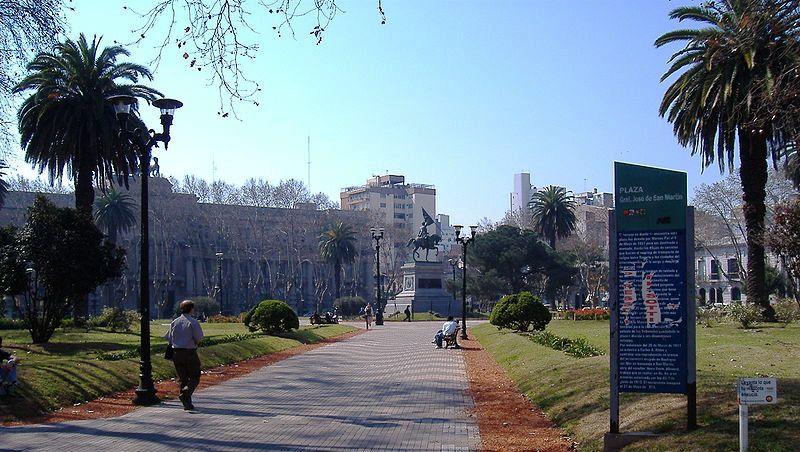 Plaza san mart n rosario arquitectura de calle for Arquitectura rosario