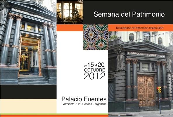 """Semana del Patrimonio 2012 Rosario"""