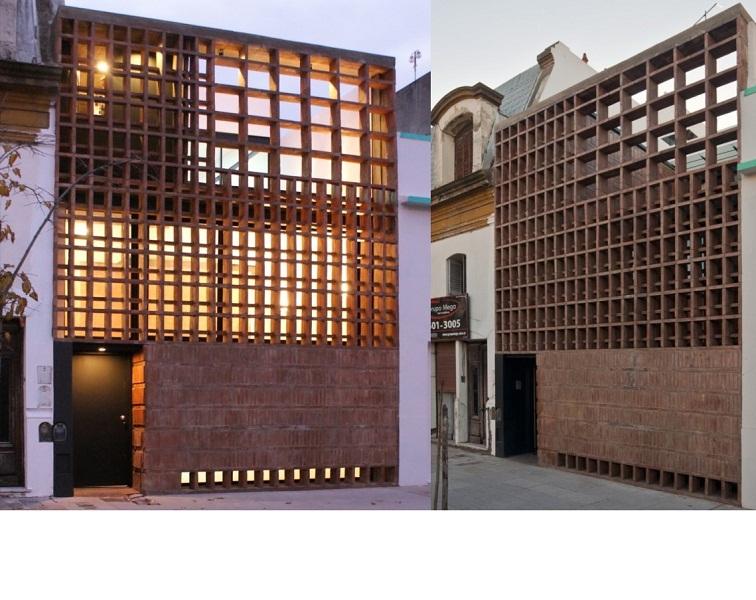 Casa ladrillos Ventura Virzi Arqs.