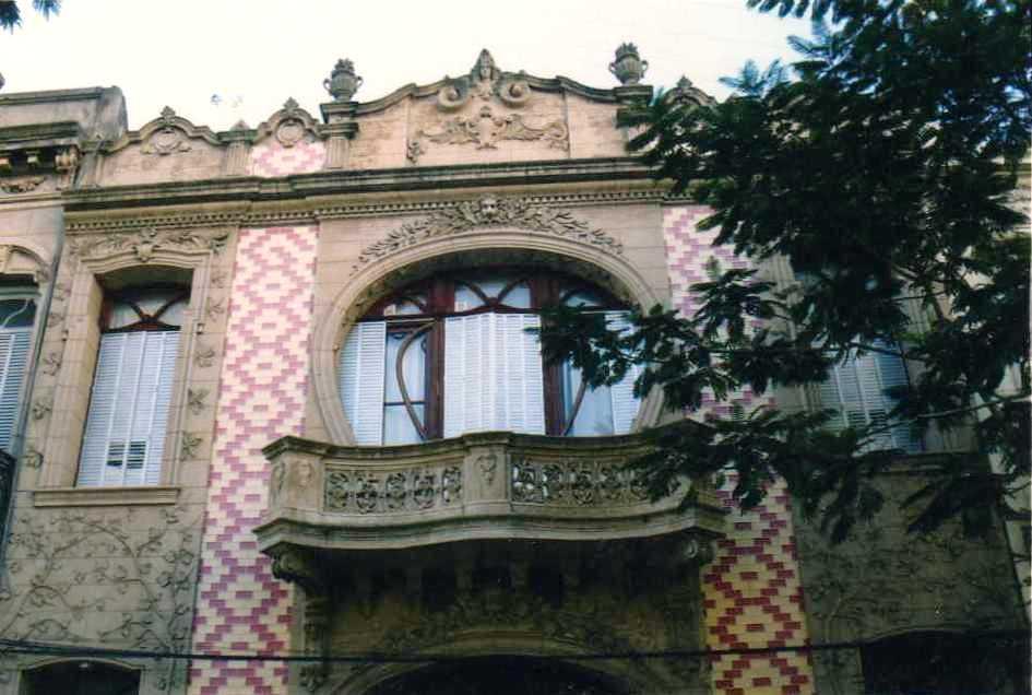 El art nouveau en rosario arquitectura de calle Art nouveau arquitectura