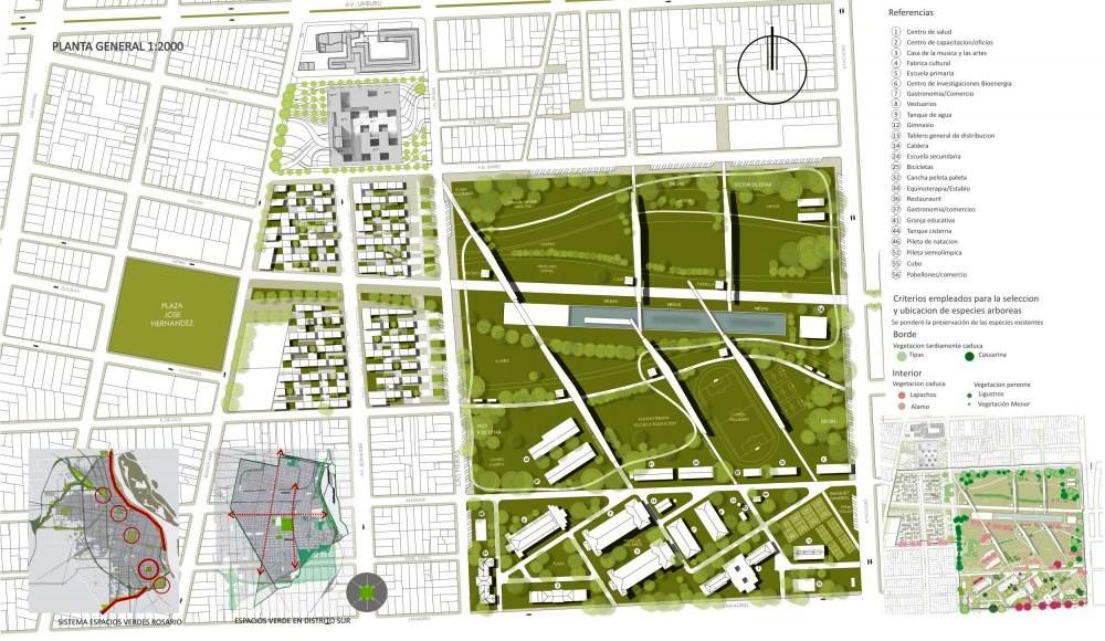 Ex batall n 121 de rosario el consejo deliberante aprob for Plan de arquitectura