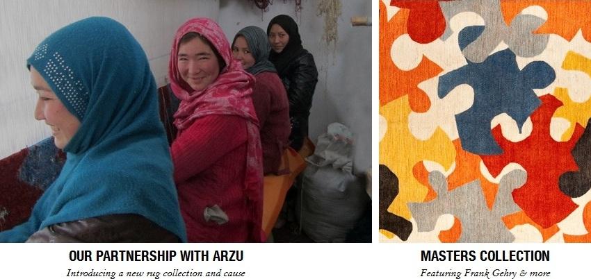 diseño alfombras mujeres afganistan