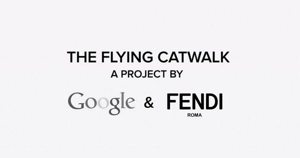 Fendi y Google los drones