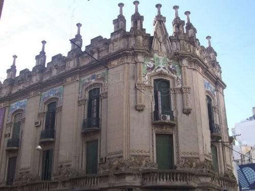 Arquitectura de fachada en el art nouveau arquitectura Art nouveau arquitectura