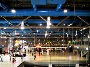 Georges Pompidou interior