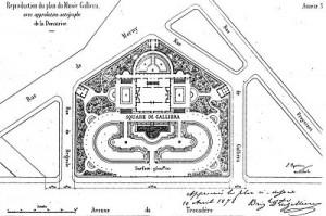 Planta general Palais Galliera