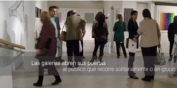 Gallery Night en Barrio Norte y Recoleta