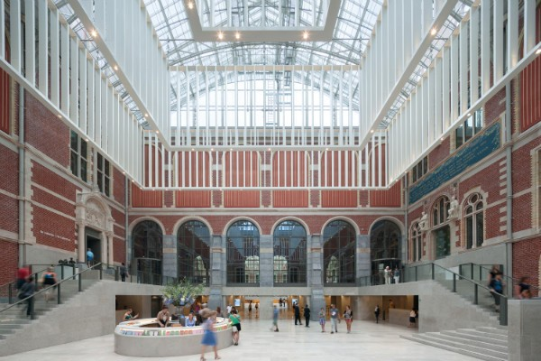 Intervención de Cruz y Ortiz en el Rijksmuseum, Ámsterdam