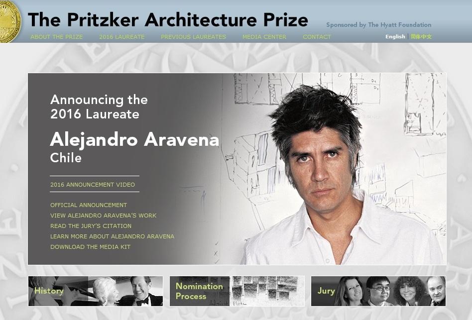 Por primera vez en la historia, el Premio Pritzker fue para un arquitecto chileno y el tercero sudamericano.