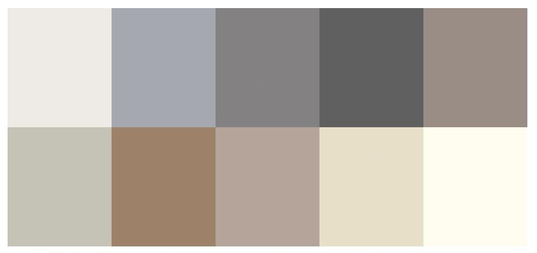 Qu son los colores neutros arquitectura de calle - Paleta de colores neutros ...