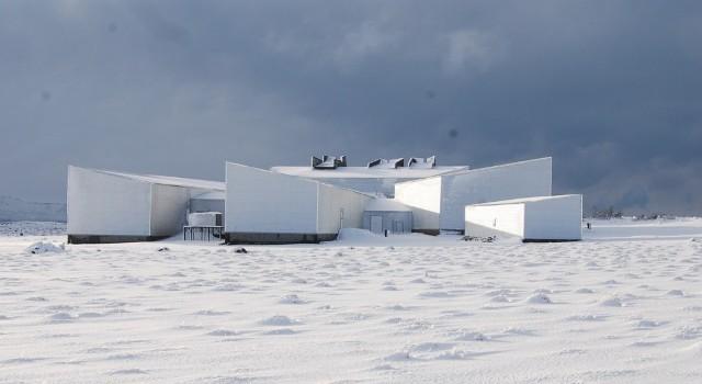 museo del hielo nieve