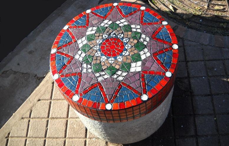 Mosaico Veneciano intervención urbana