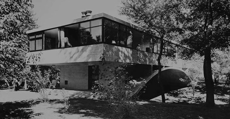 """Casa del Arroyo, Amancio Williams"""