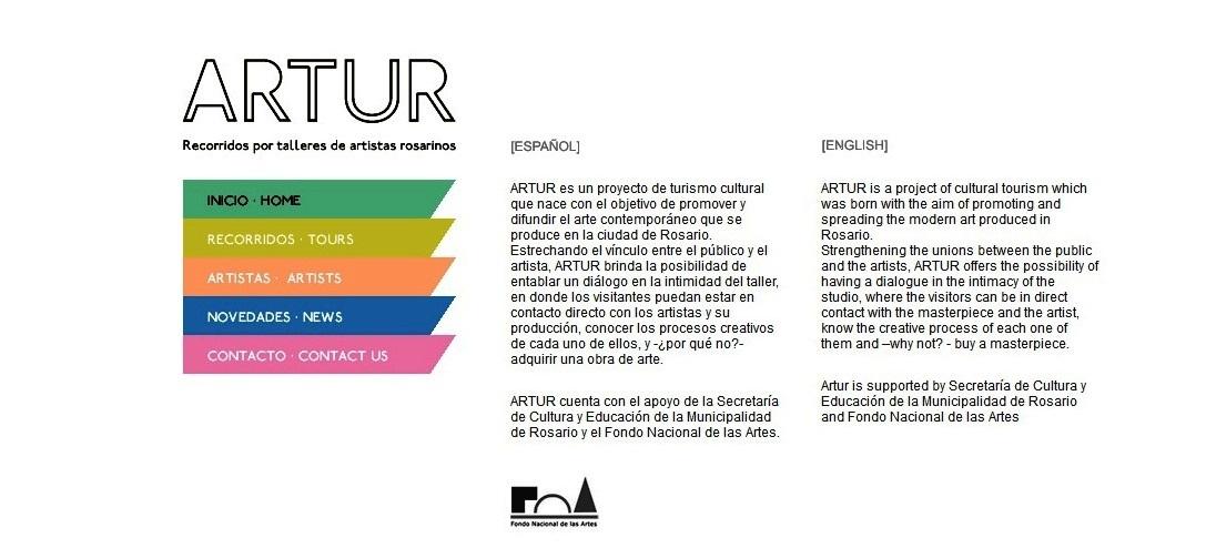 """""""ARTUR Recorrido talleres artistas"""""""