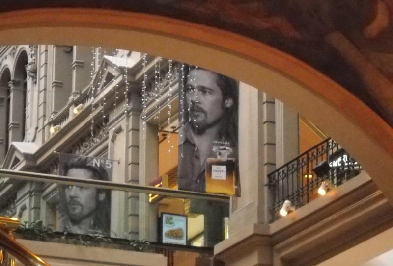 Galerías Pacifico Brad Pitt