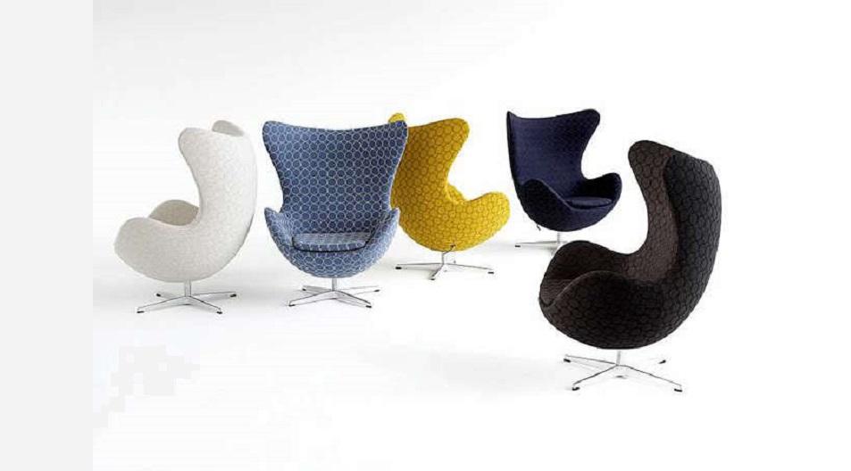 La silla The Egg, al igual que otros diseños, fue diseñada por el arquitecto Arne Jacobsen.