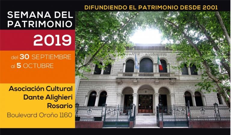 Semana del Patrimonio 2019 Rosario